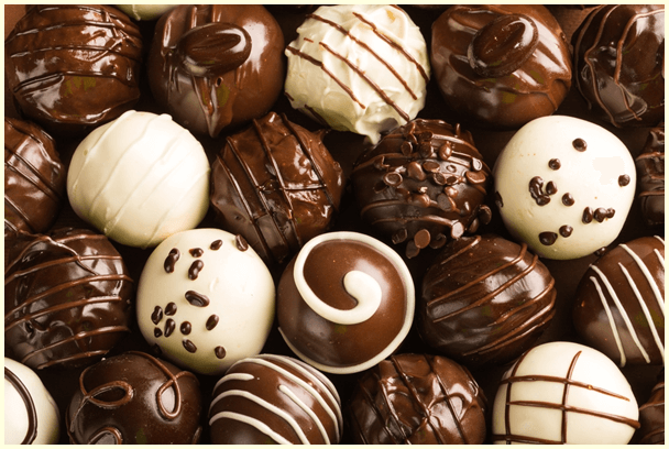 Sweet chocolates