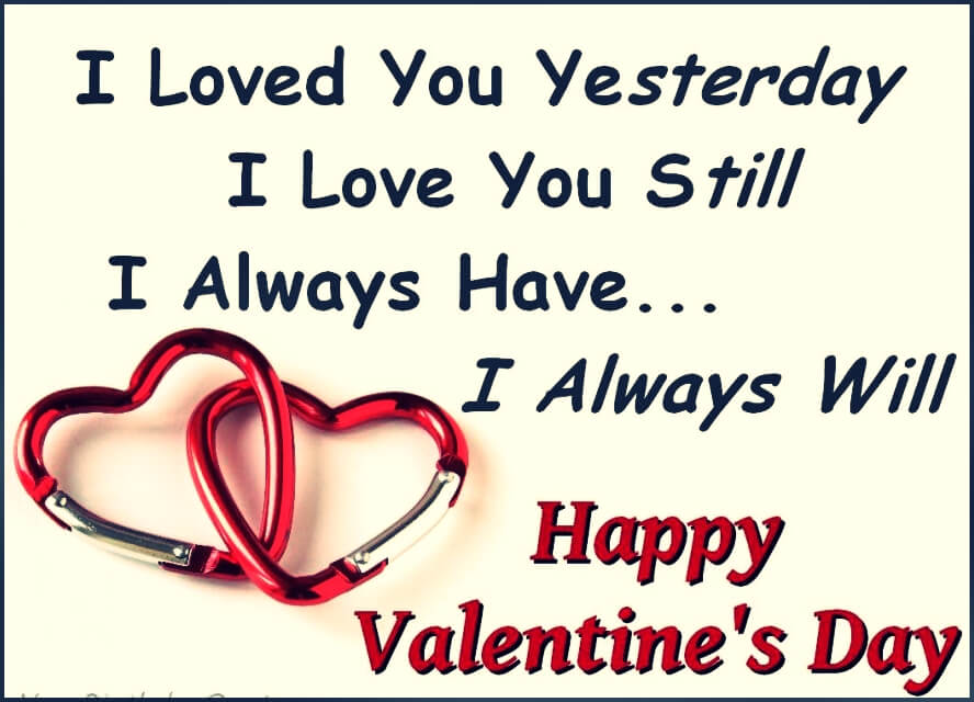 Happy valentines day love you all
